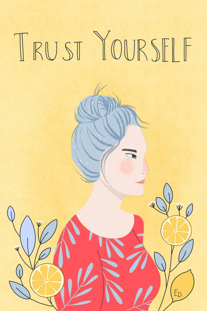 Trust Yourself, self care, mental health, mental wellbeing