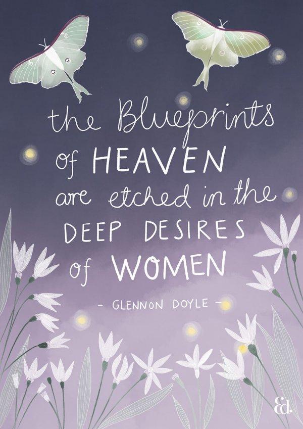 Women supporting women quote, Glennon Doyle, untamed, women's empowerment