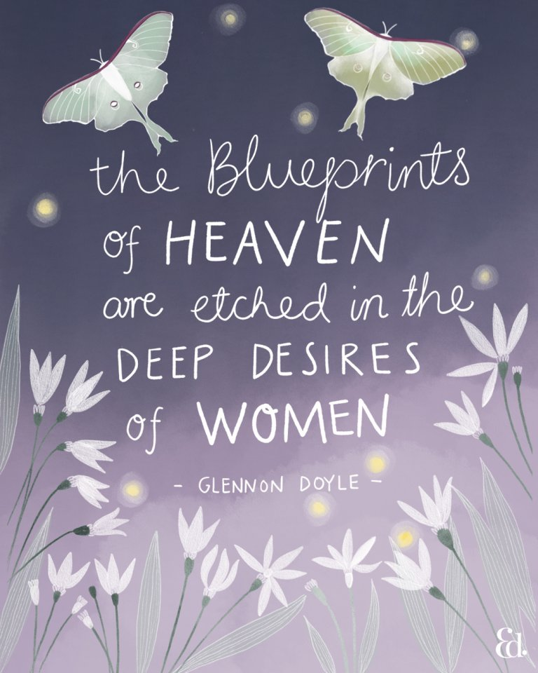 Glennon Doyle, Untamed, women supporting women quotes,
