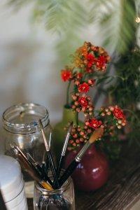 Artist Studio ideas, inspiration, art studio at home, studio organisation