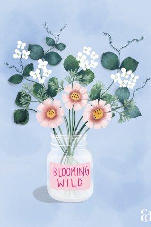 Floral Art Print Australian Artist