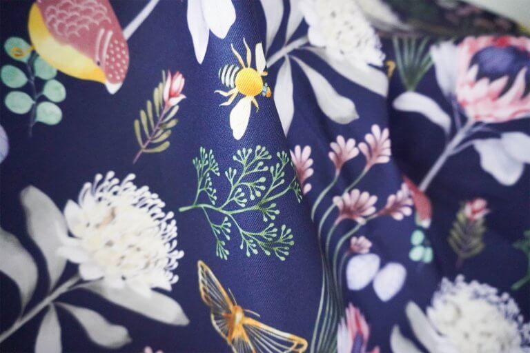 Pardalote Print, Erin Duncan Creative, Australian interiors, Australlian Artist, Cushions, Floral Cushions