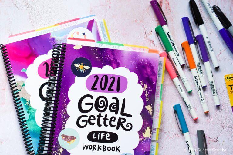 Leonie Dawson Goal Getter Workbook 2021