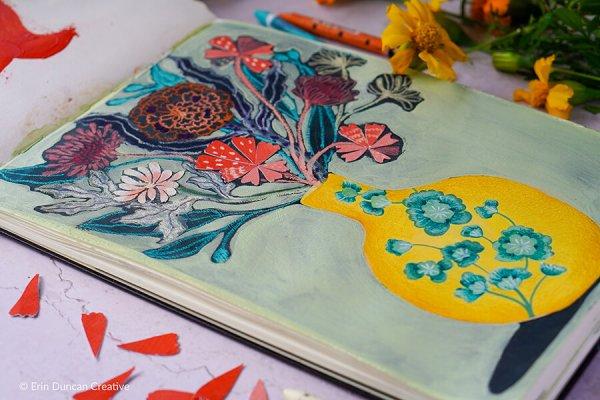 Erin Duncan Creative, Bad Painting 3