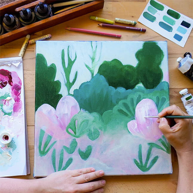 Erin Duncan Creative, 100 Bad Paintings